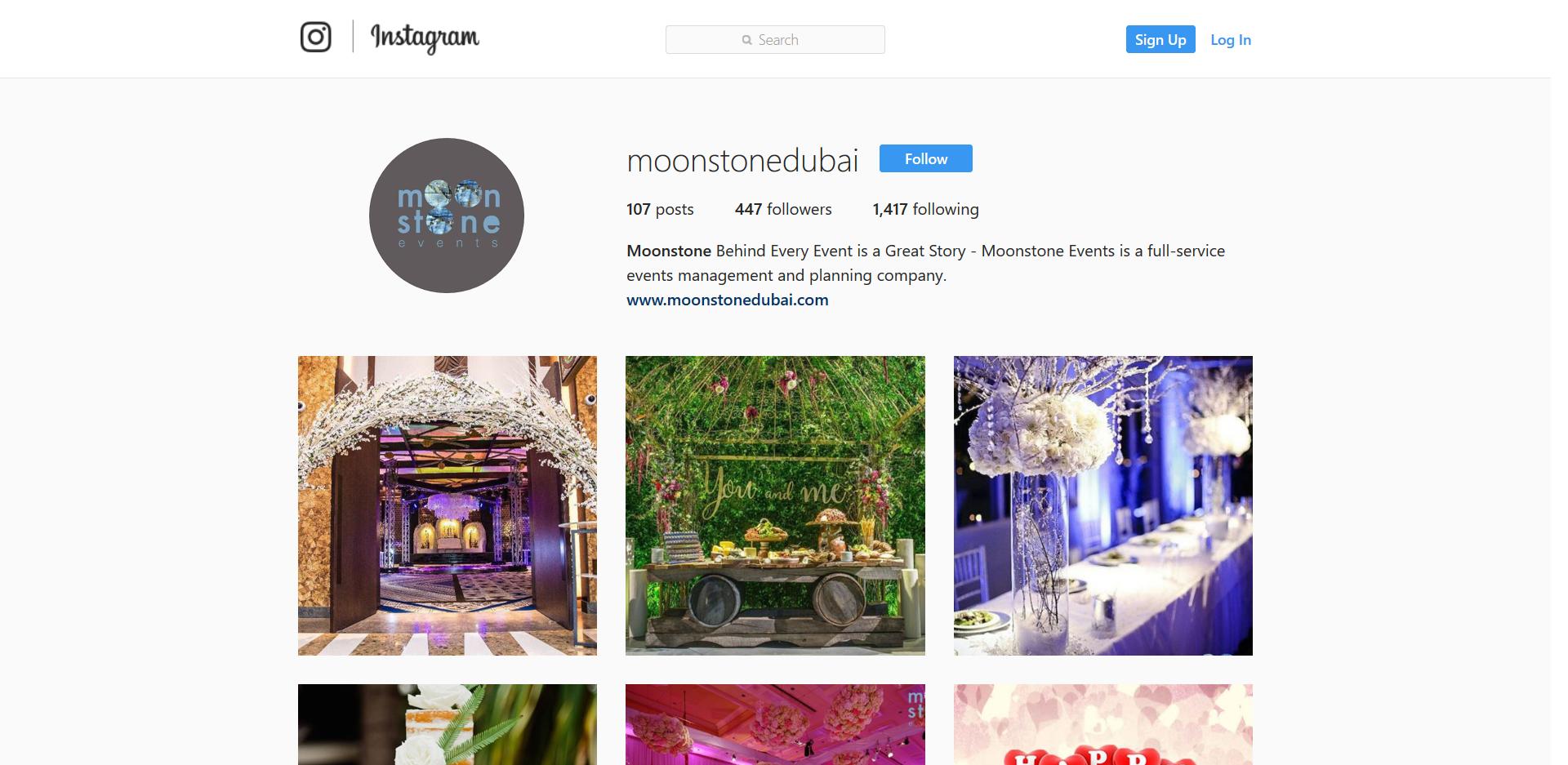 MOONSTONE DUBAI - AZ Media LLC